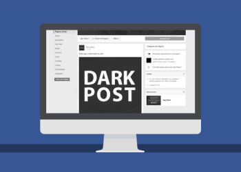 dark post