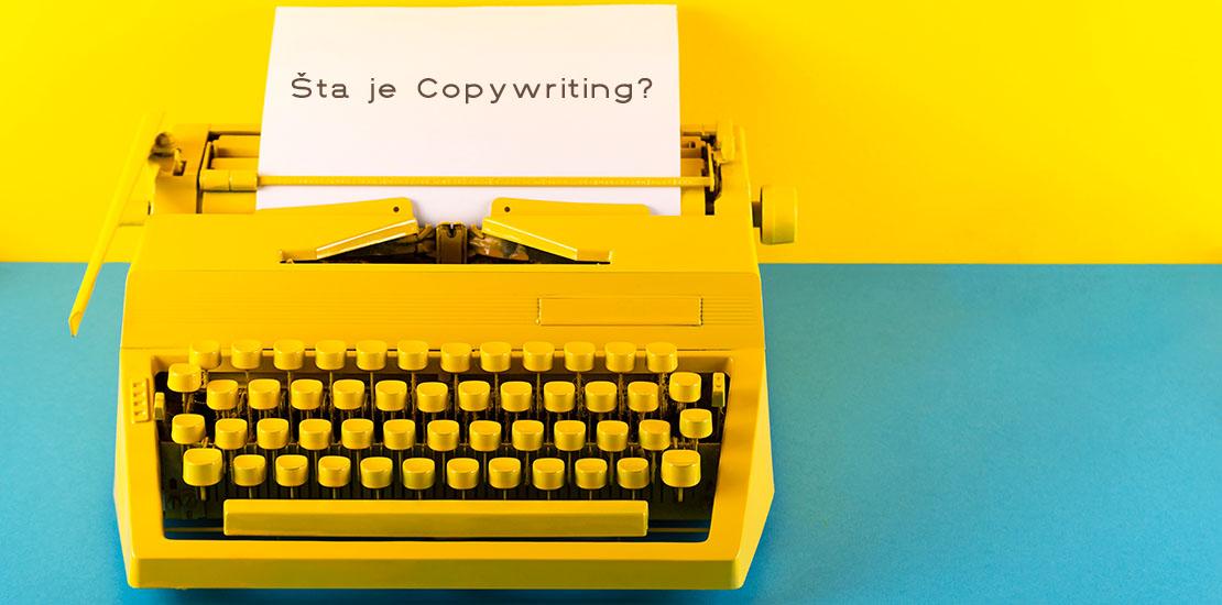 šta je copywriting kopirajting